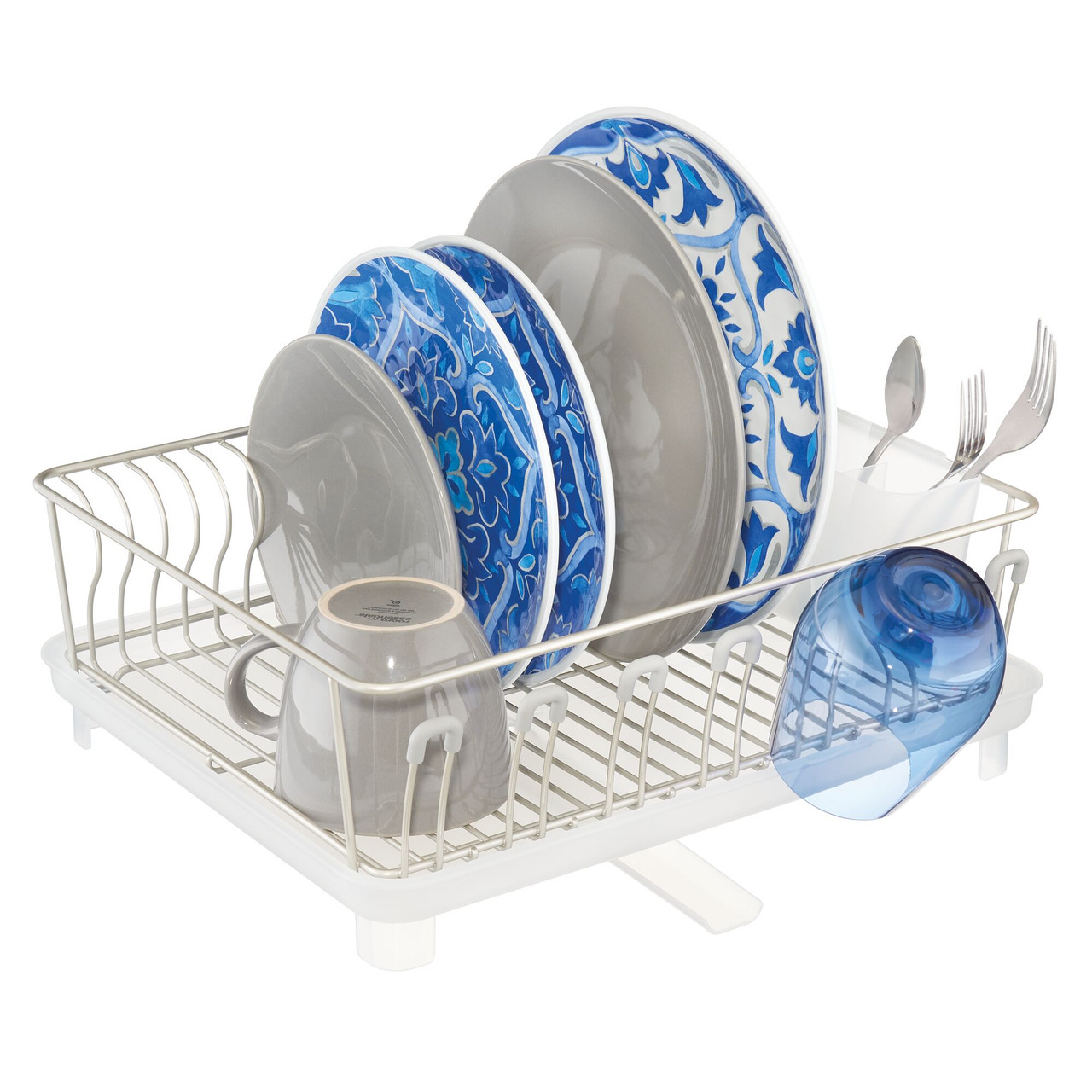 https mdesignhomedecor com large kitchen sink dish drying rack with swivel spout