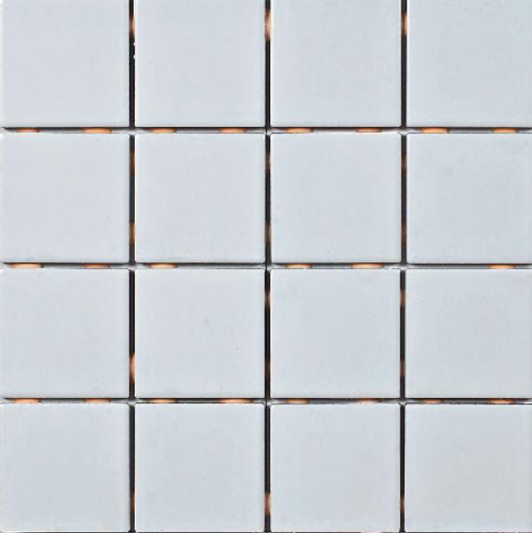 white 3x3 ceramic mosaic 12x12