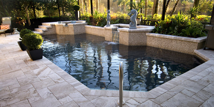 expected and unexpected pool tile ideas