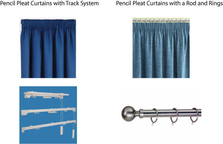 measure and hang pencil pleat curtains