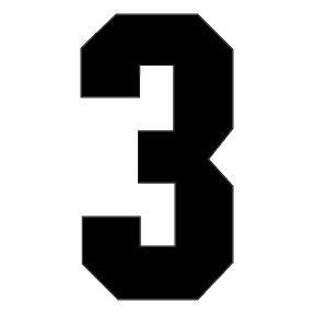 number 3 # 41