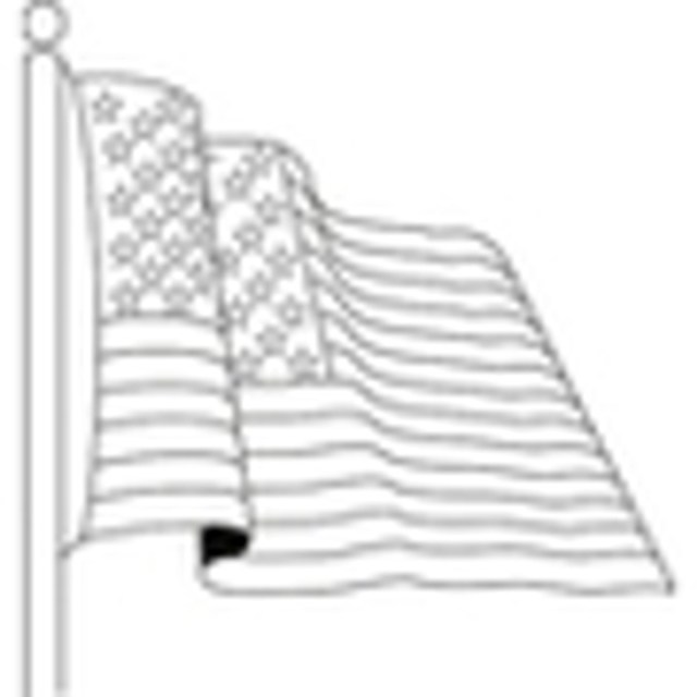Free American Flag Coloring Pages  Download Now!
