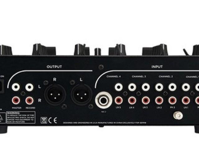 Gemini Ps 5 4 Channel Stereo Dj Mixer