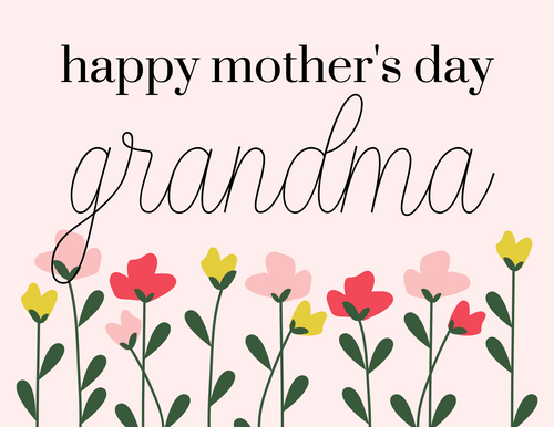 Mother S Day Grandma Card Love Of Character