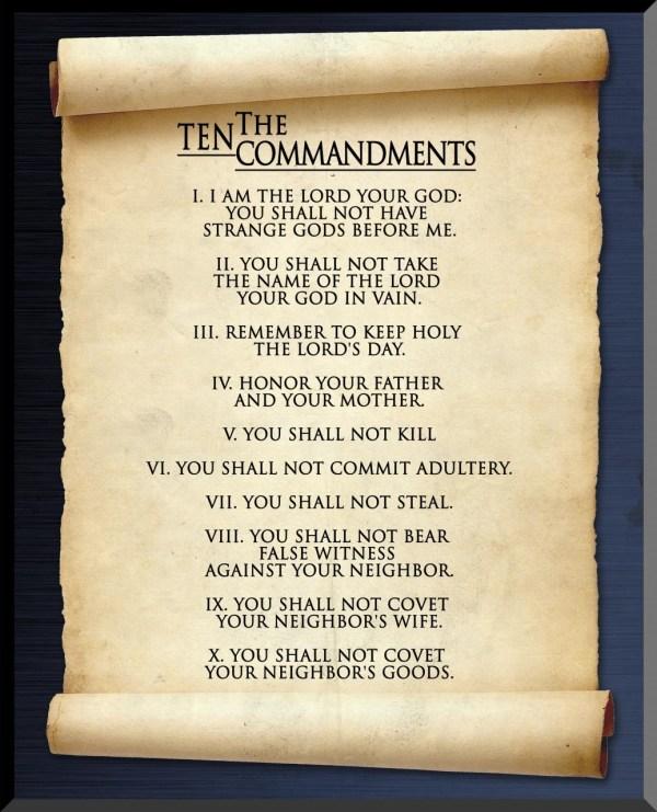 10 commandments # 15