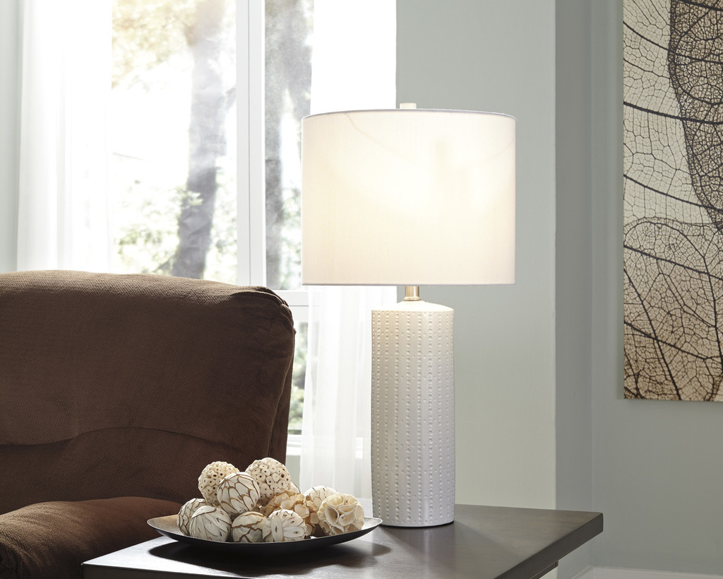The Steuben Table Lamp Set