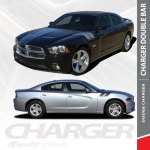 Dodge Charger 2015 2019 Rally Double Stripes With Hood Accents Choose Color Car Truck Graphics Decals Car Truck Parts