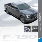 2018 Ford F 150 Hood Decals Route Hood 2015 2019 2020
