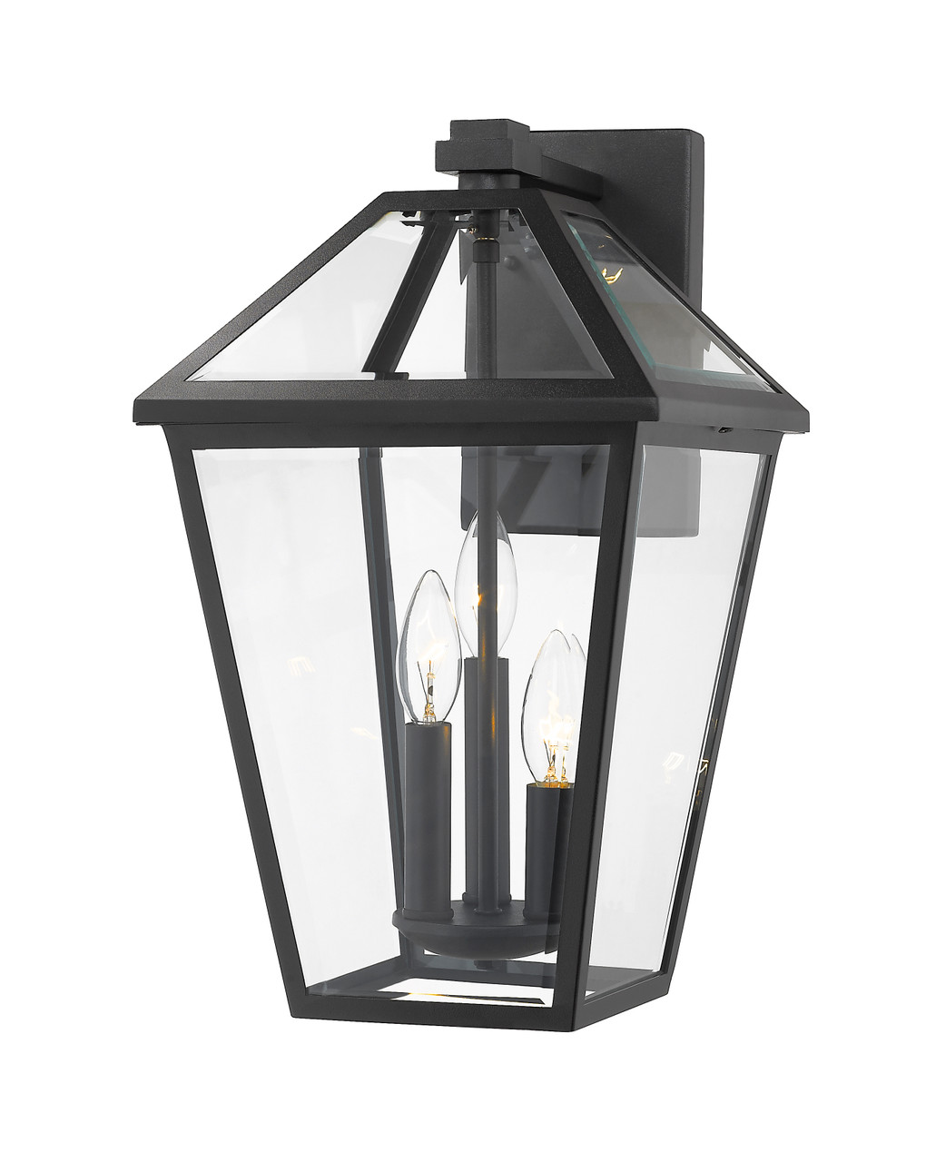 talbot 3 light outdoor wall sconce