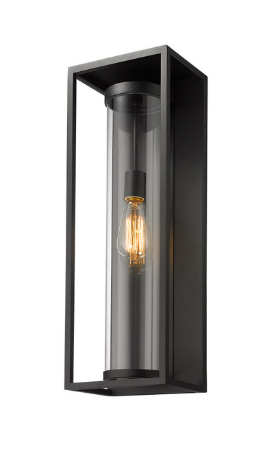 dunbroch 1 light large outdoor wall sconce by z lite