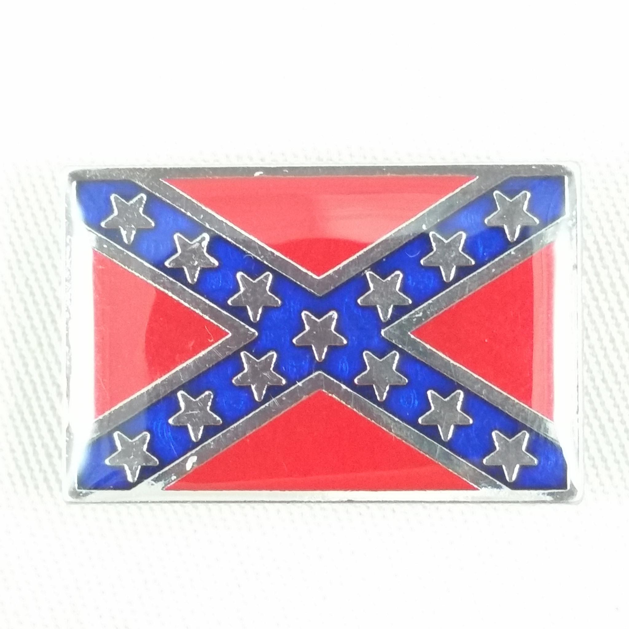 confederate reble battle flag concho
