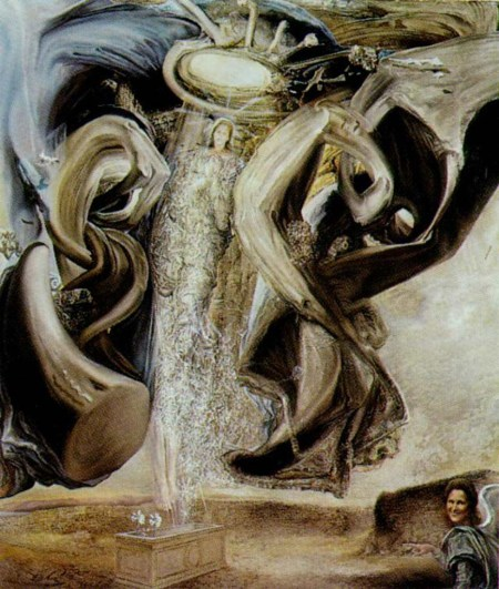 Anti Protonic Assumption By Salvador Dali Art Reproduction from Wanford