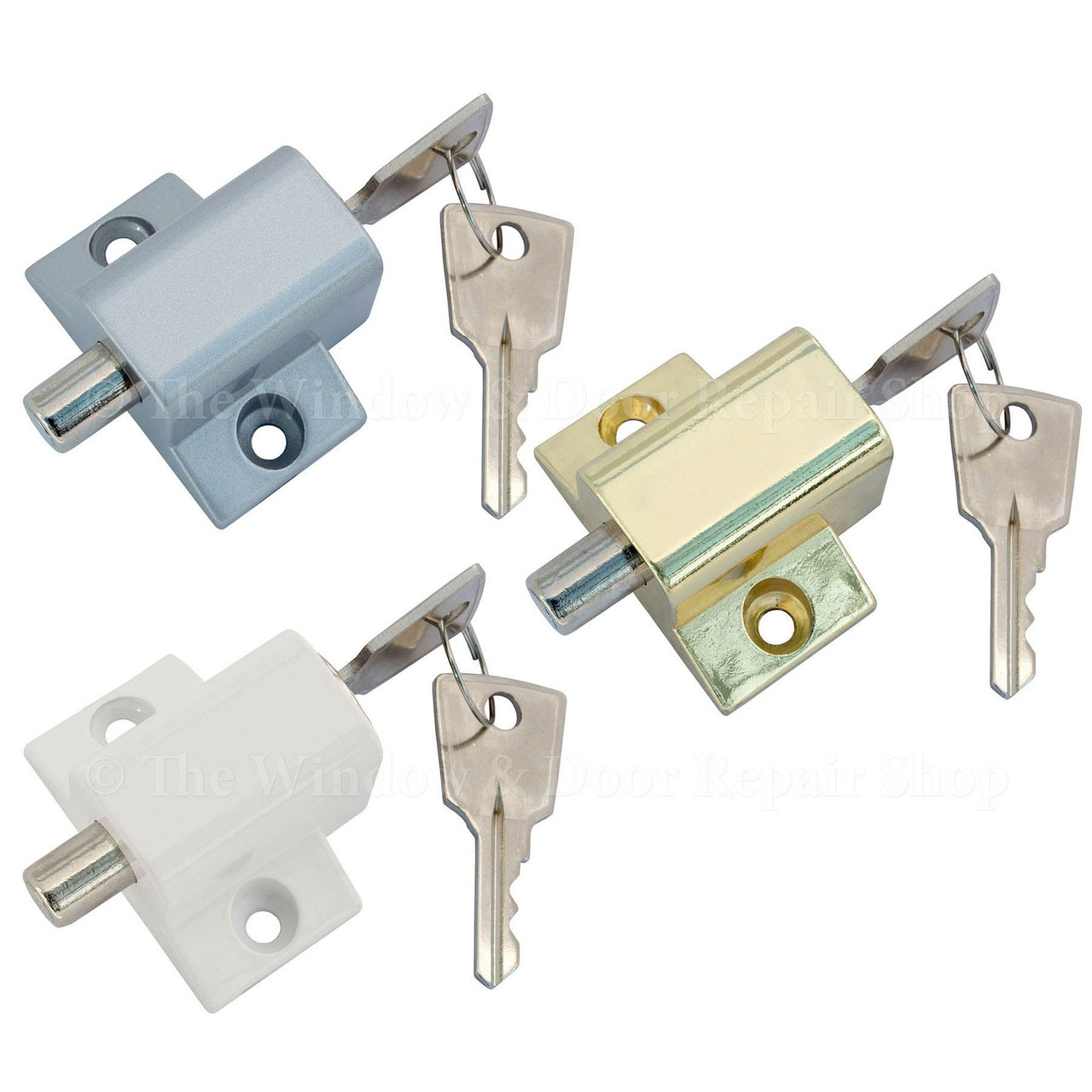securit sliding patio door lock security dead bolt key locking