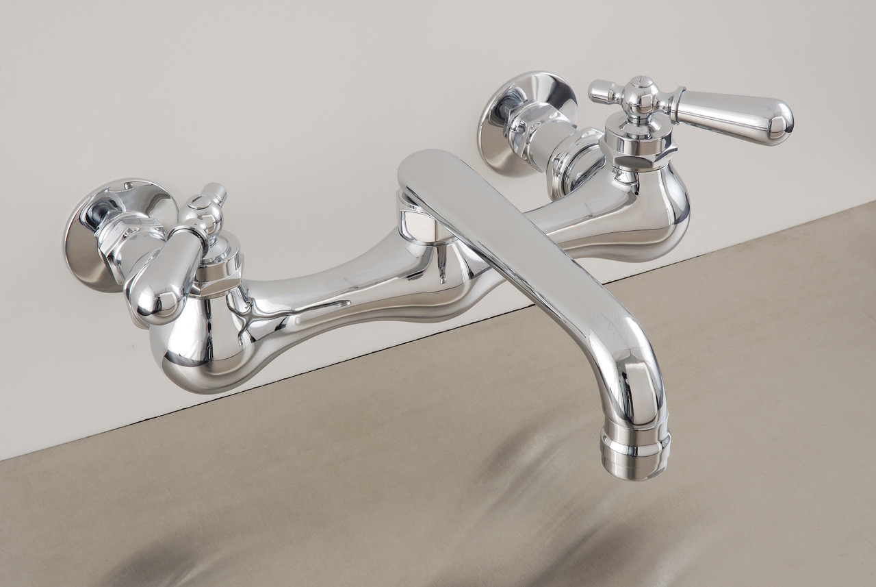 8 wall mount kitchen faucet