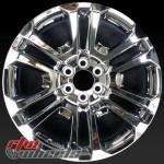 22 Gmc Chevy Truck Wheels For Sale 2015 2020 Chrome Rims 4741