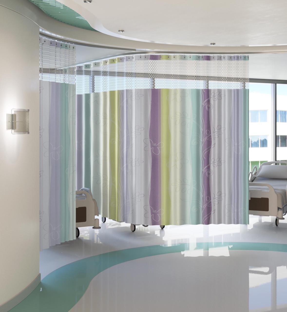 custom privacy cubicle curtains curtain tracks