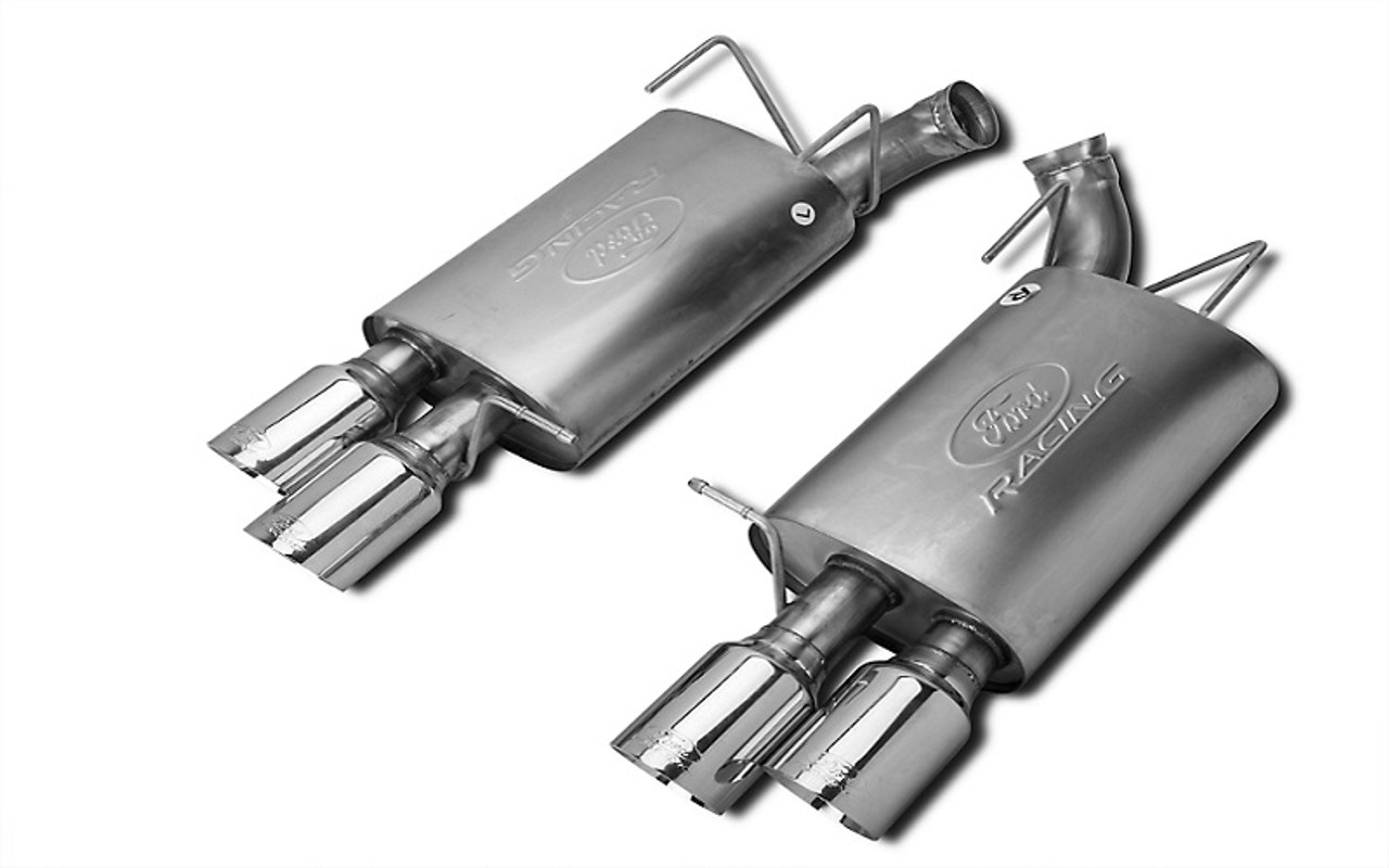 ford racing sport axle back exhaust 13 14 gt500