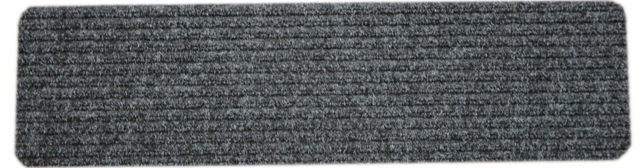 Dean Carpet Stair Treads Runners Mats Step Covers Dark Gray | Black And White Stair Carpet | Entry Hall | Square Pattern | Luxurious | American Style | Small Space
