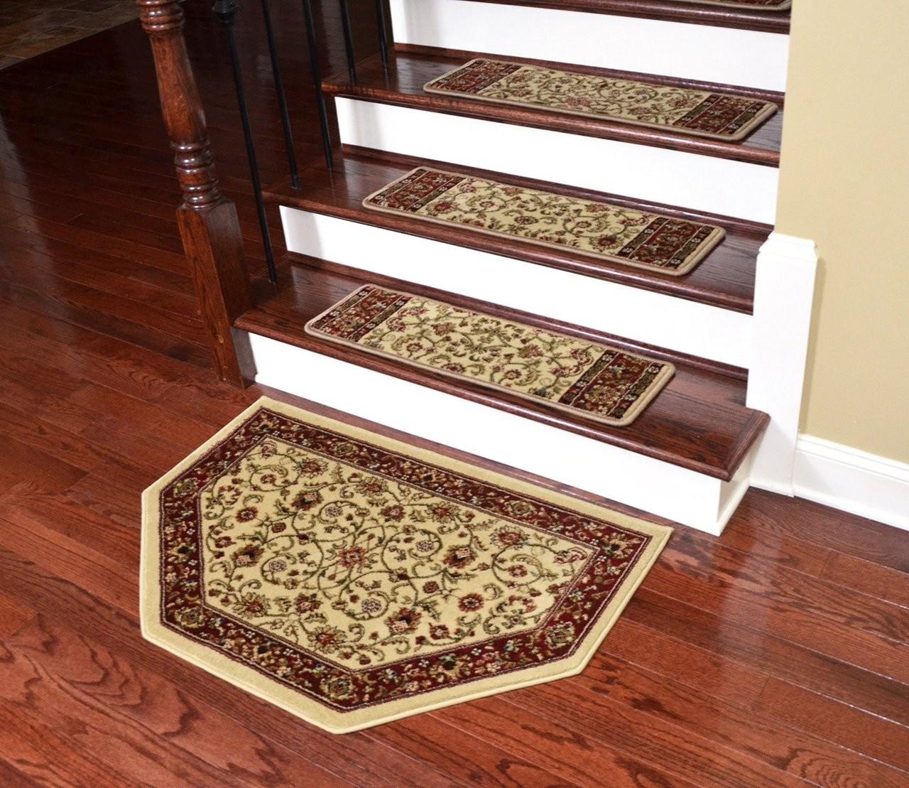 Dean Non Slip Pet Friendly Carpet Stair Step Cover Treads | Dean Carpet Stair Treads | Pet Friendly | Gripper Tape | Friendly Diy | Rug | Modern Diy