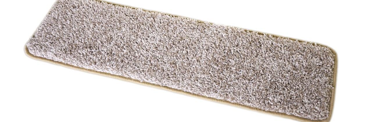 Dean Washable Non Slip Carpet Stair Treads Macadamia Beige Set | Rug Stair Treads Non Slip | Vinyl Flooring | Skid Resistant | 8.5 X26 | Overstock | Mat