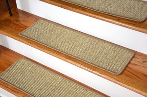 Dean Diy 30 X 9 Premium Carpet Stair Treads Color Softique | Carpet Treads For Steps | Laminate | Interior | Basement Stair Carpet | Double Thickness Tread | Turquoise