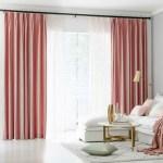 Pair Of Velvet Curtains In Rose Pink Custom Curtains