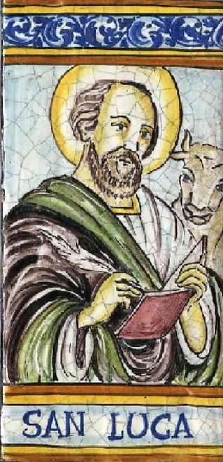 Della chiesa di san francesco in deruta, del quale si conservano 200 mattonelle, a forma di croce,. Italian Ceramic Saint Tile Joseph Tile San Giuseppe