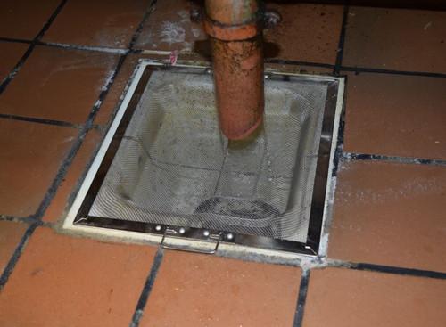 floor sink basket strainers for