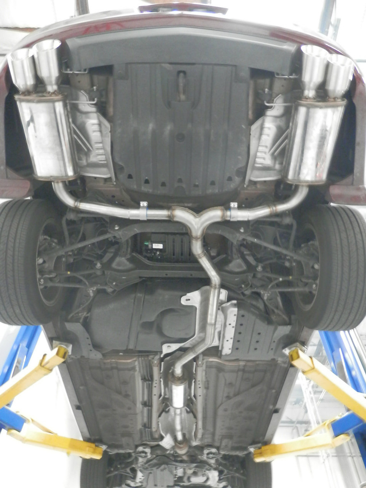 endless acura tl performance catback 09 14 fwd front wheel drive v2