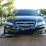 A Spec Front And Rear 2004 2008 Acura Tl Type S