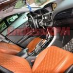 Custom Clazzio Seat Covers Honda Accord Sedan 2013 2017 Single Color Diamond