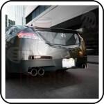 Atlp Quad Tip Catback System 2009 14 Acura Tl Base Fwd Endless Rpm