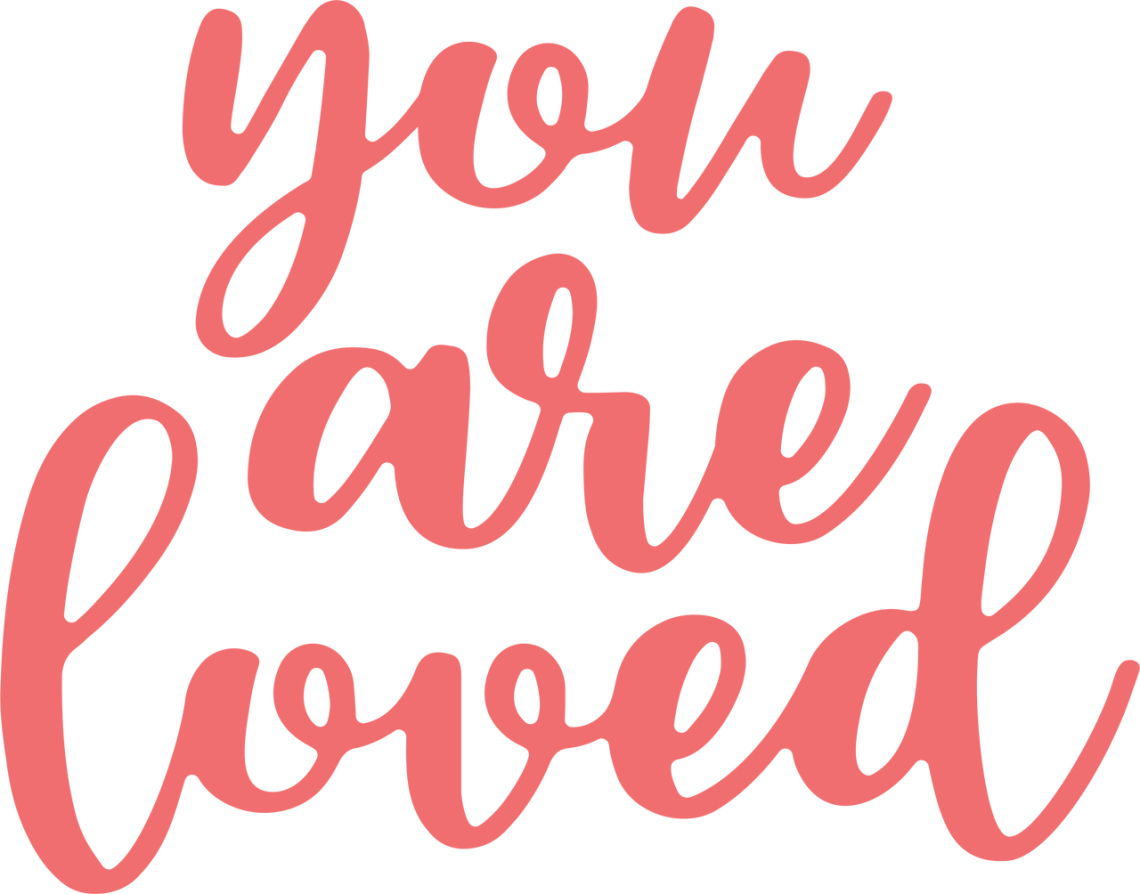 Download You Are Loved SVG Cut File - Snap Click Supply Co.