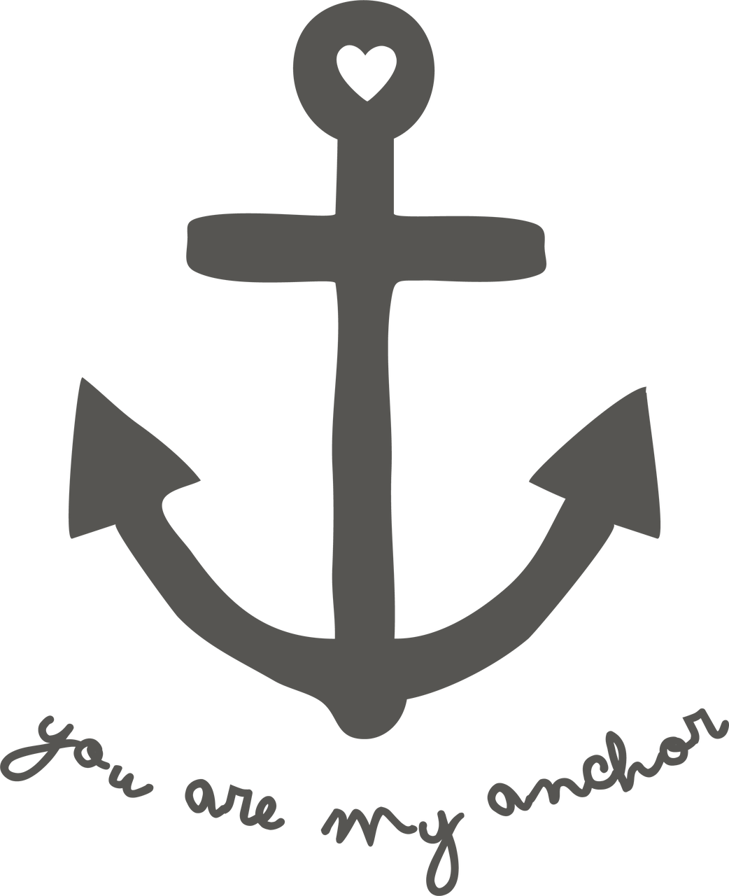 Download You Are My Anchor SVG Cut File - Snap Click Supply Co.