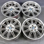 2006 2012 Bmw E90 3 Series Factory Staggered 19 Style 225 M Double Spoke Wheels 26038 Prussian Motors