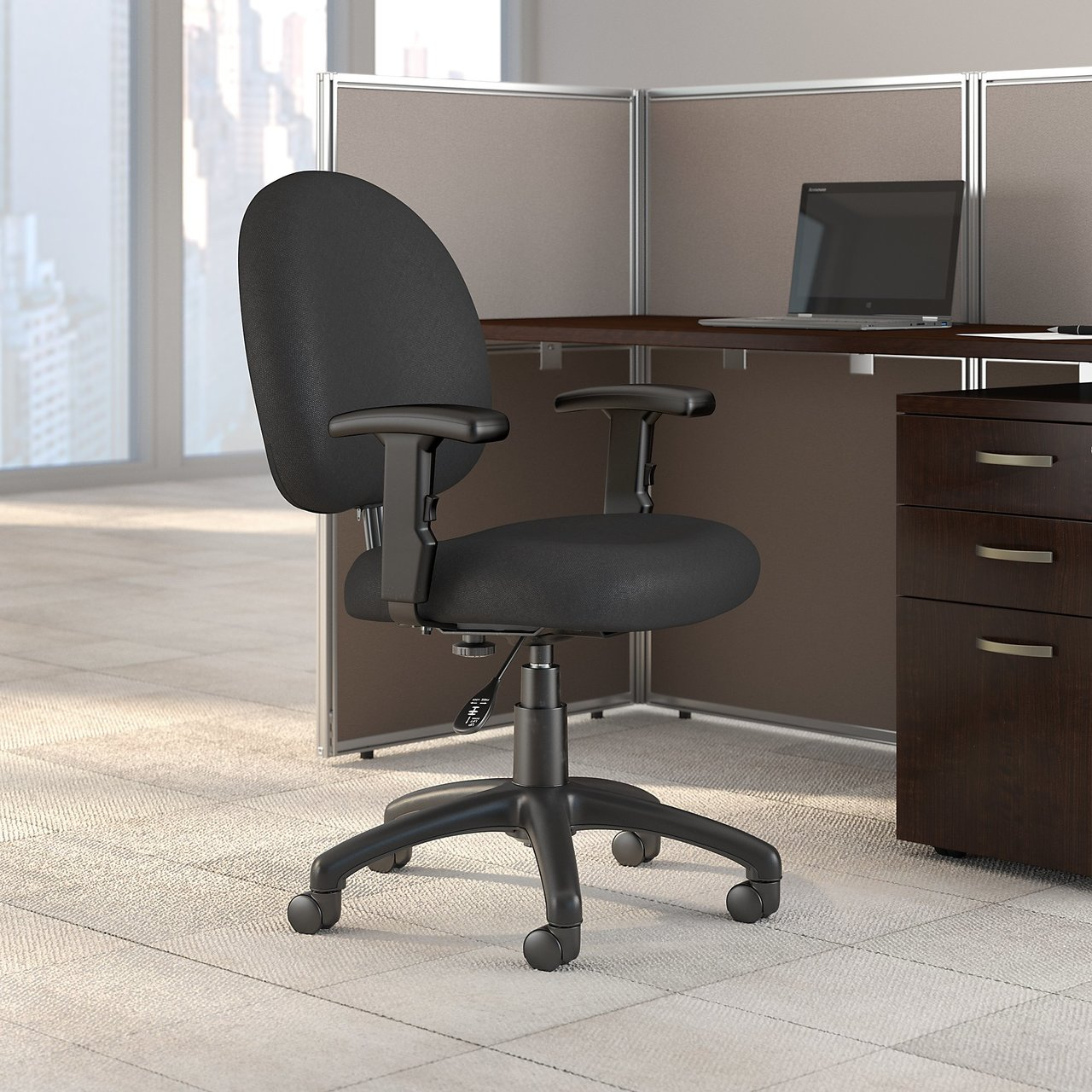 Bush Business Furniture Accord Task Chair With Arms