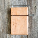Artisan Crafted Cherry Wood Cheese Slicer Board By Rockledge Farm Woodworks Nicole Rhea