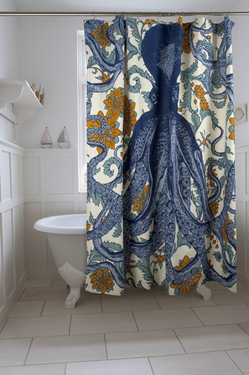 thomaspaul octopus shower curtain
