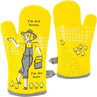 Cheeky Oven Mitts - I'm the Boss - Hostess Gift