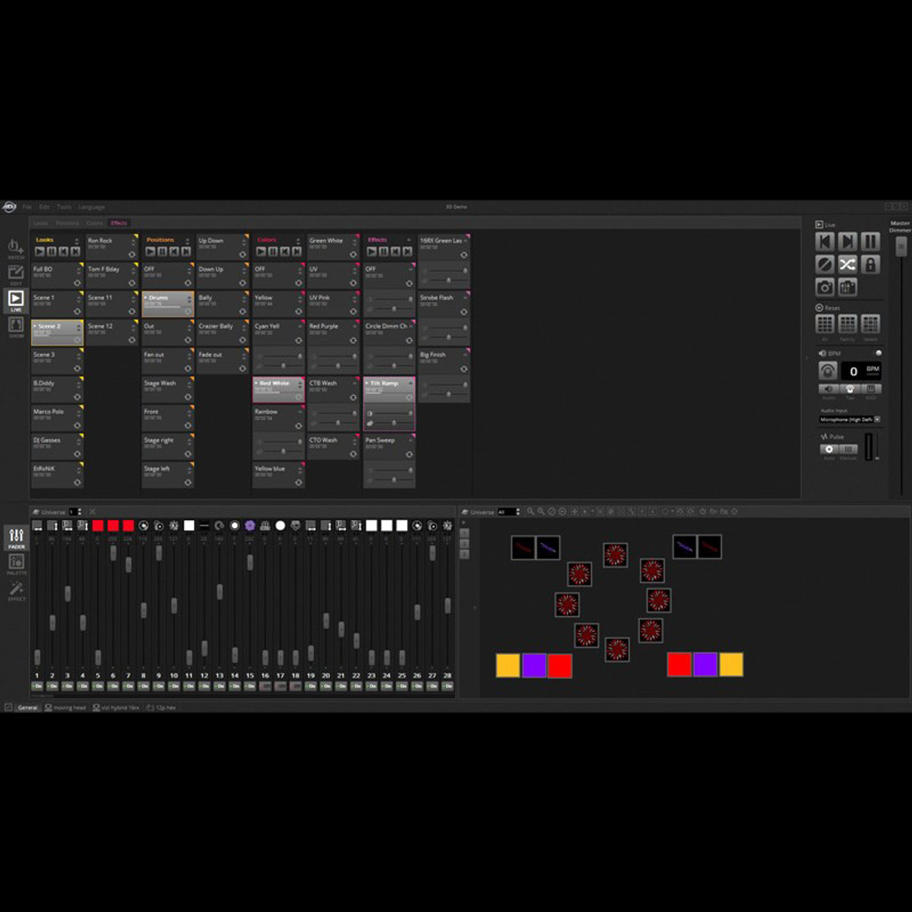 adj mydmx 3 0 dmx lighting control software pc mac