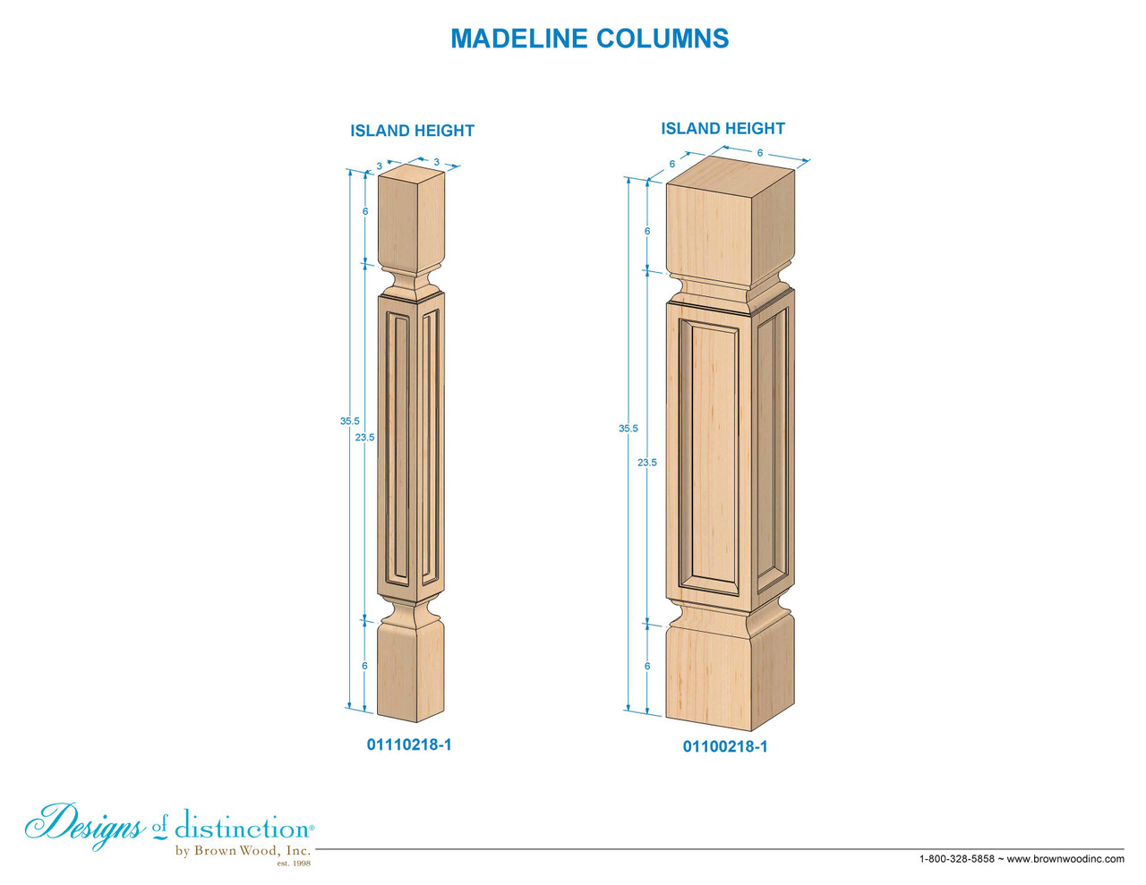 35 1 2 madeline kitchen table leg