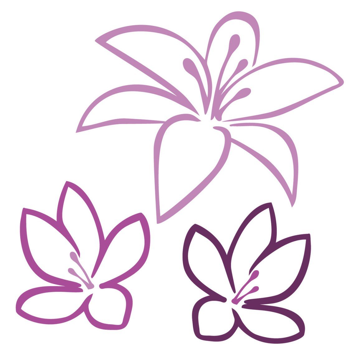 Download Free Tropical Flowers SVG Cut File   Craftables
