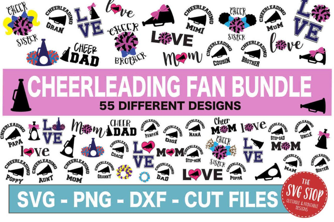 Download The Cheerleading Fan Bundle | The SVG Stop Cuttable ...