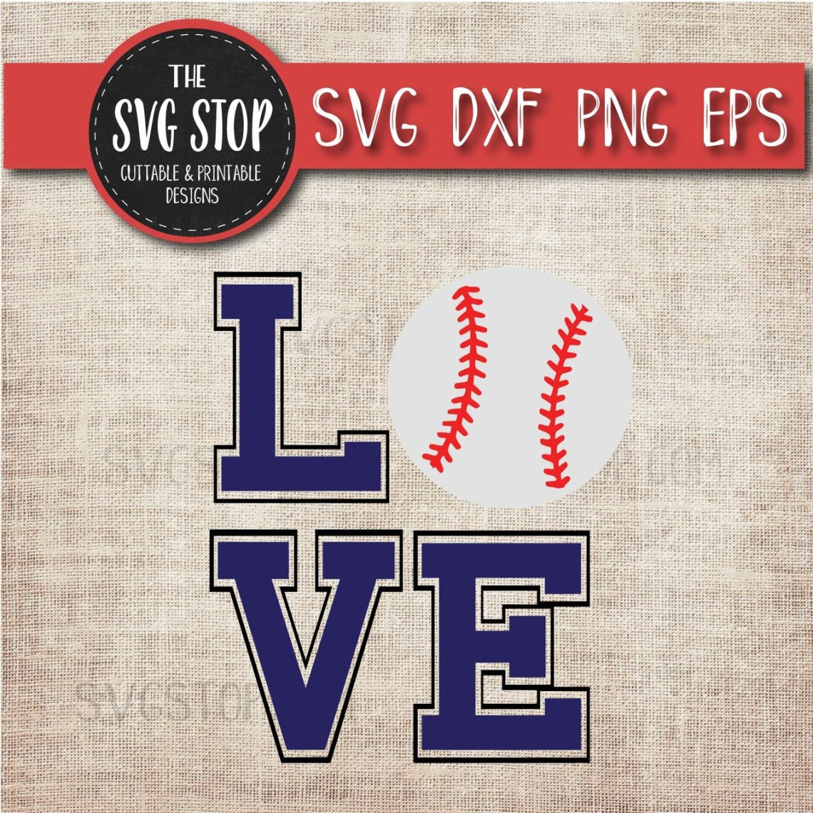 Download Love Baseball Svg Cut File Clipart | The SVG Stop