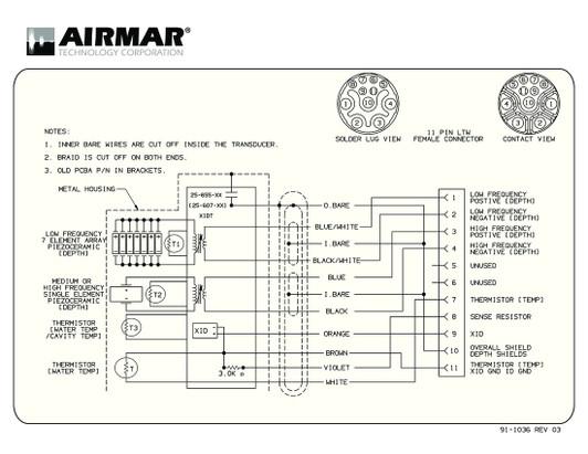 airmar wiring diagram b265lh b265lm best deal  blue bottle