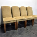 Sold Out Mitchell Gold For Restoration Hardware Upholstered Dining Chairs Set Of 4 Boyd S Fine Furnishings