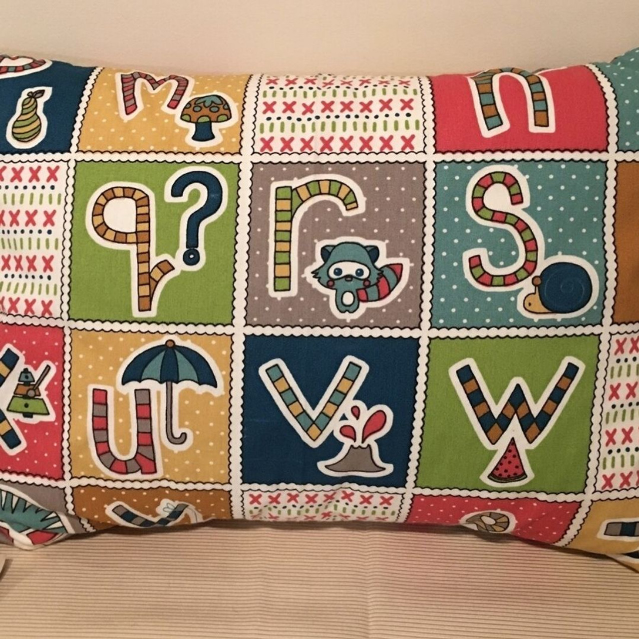 just right pillows for kids with organic cotton covers