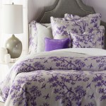 86 Purple Bonsai Flying Crane Twin Duvet Cover With Sham Christmas Central