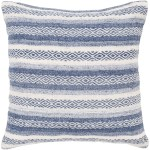 20 Navy Blue White Geometric Square Throw Pillow Cover Christmas Central