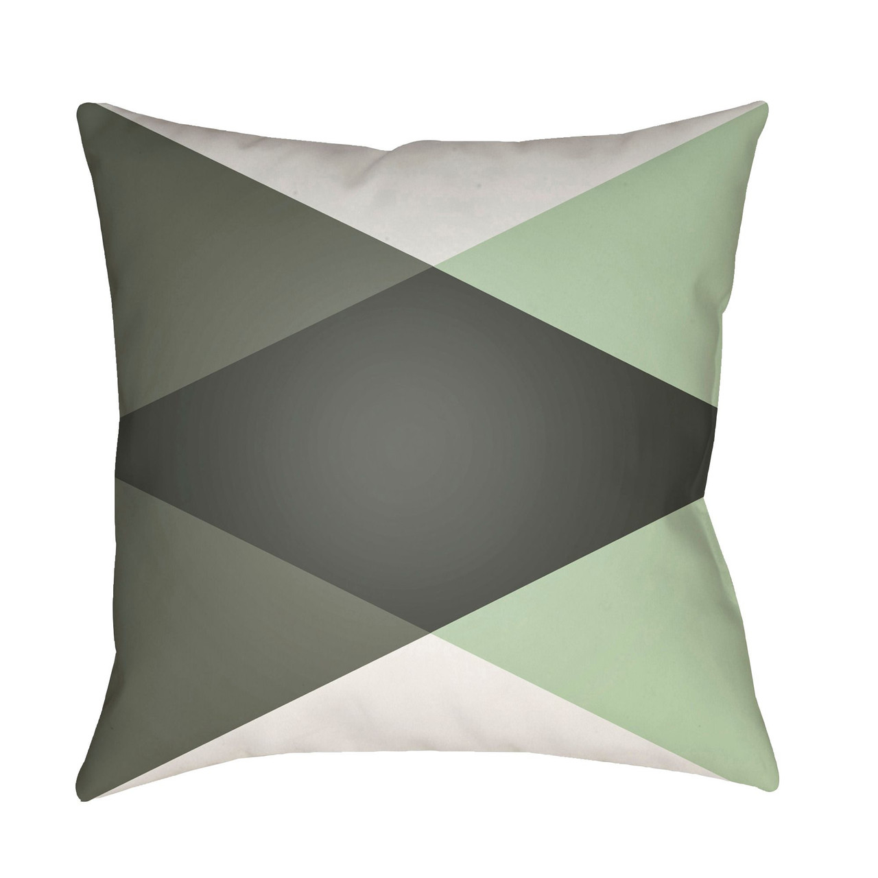 20 sage green and white geometric square throw pillow cover